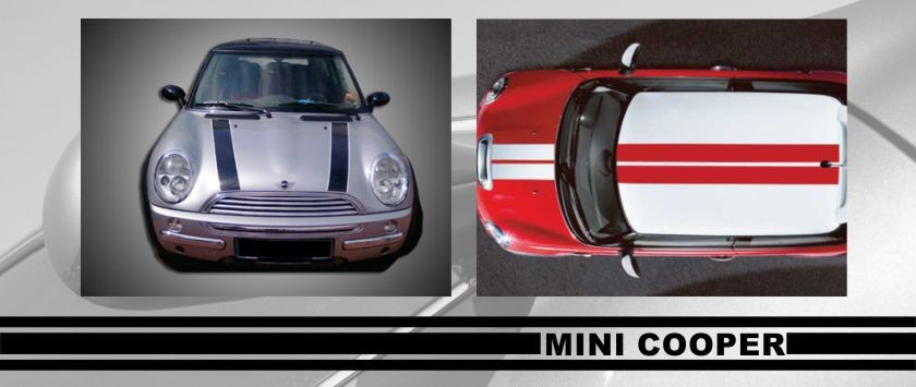 Stickers For Mini Coopers And Countrymans