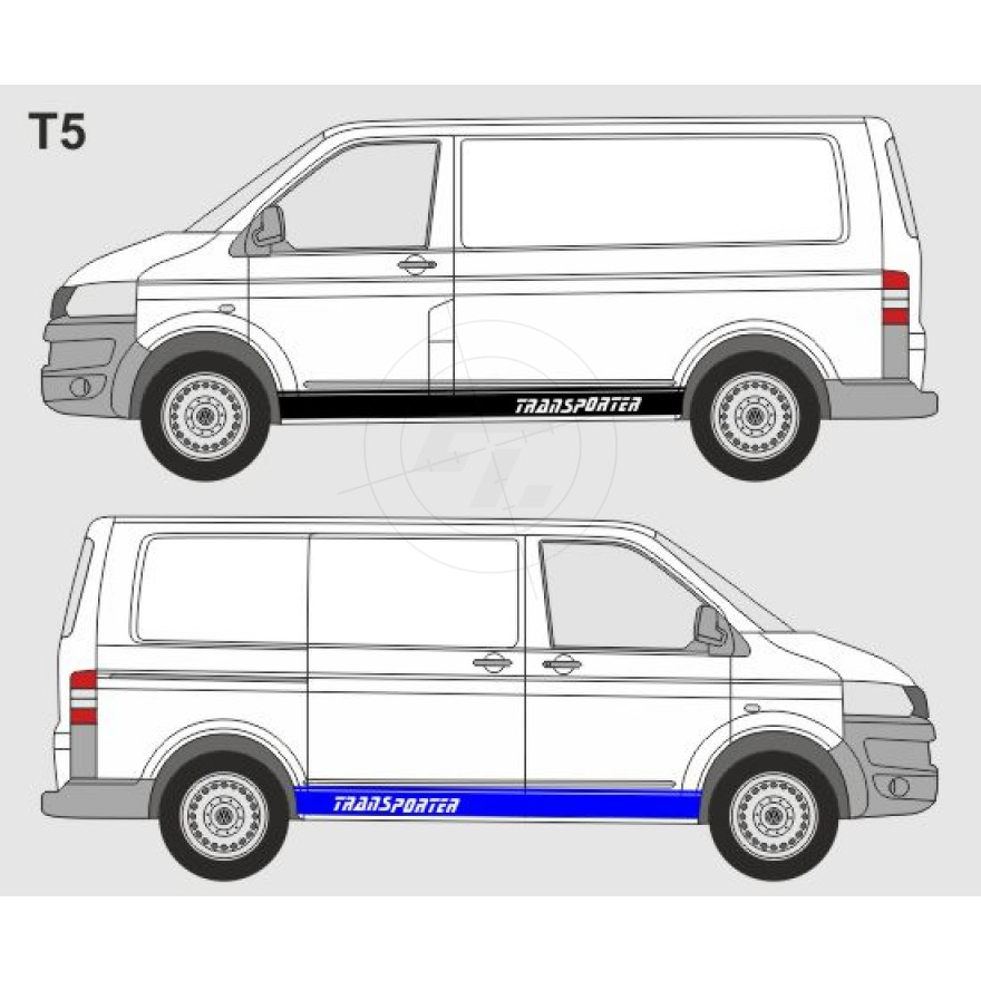 Side Stripes T5 T6 Transporter