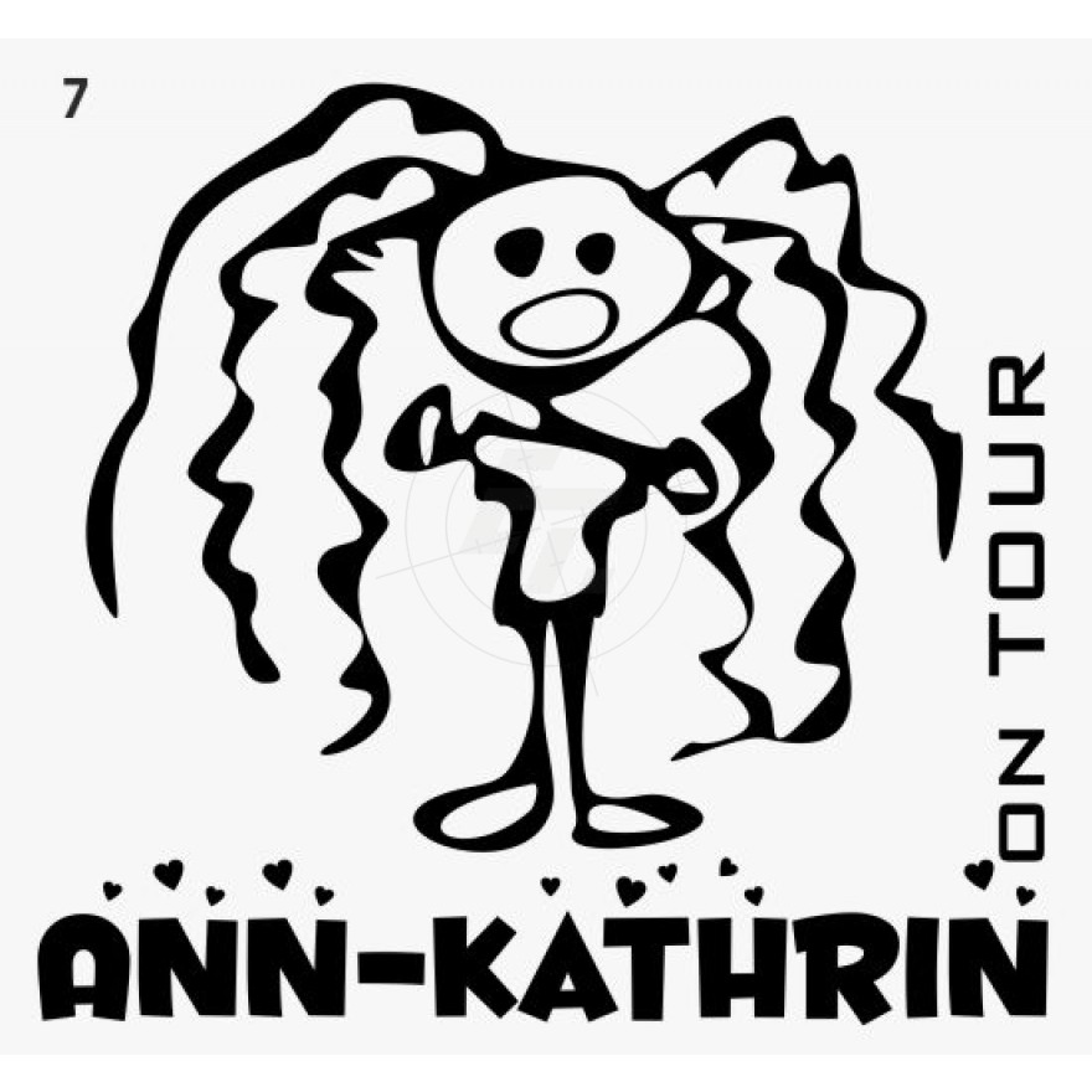 Kids stickers of children\'s drawings, Aufkleber, Sticker und Folien ...