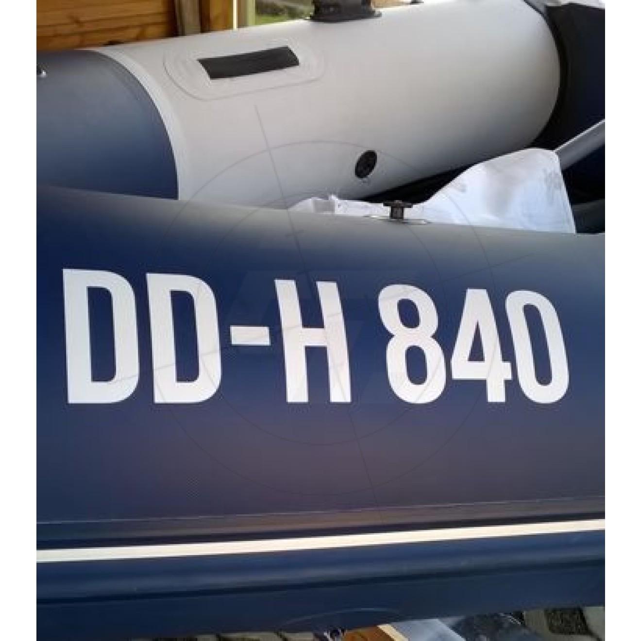 Galerie Von 4x Kennzeichen Nummernschild Aufkleber Eu Feld