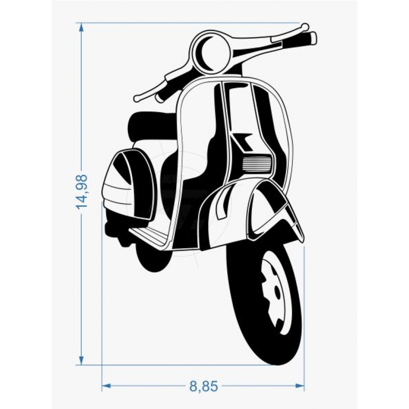 autoaufkleber biker au er dienst sch nes crossmotorrad. Black Bedroom Furniture Sets. Home Design Ideas