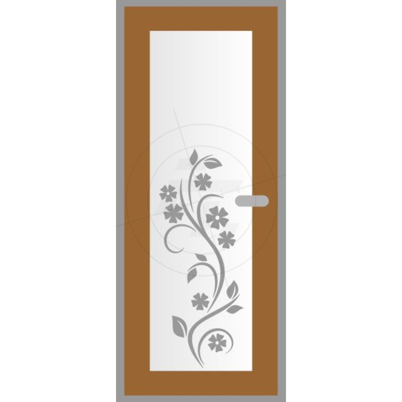 Door foil cornflowers, Aufkleber, Sticker und Folien für