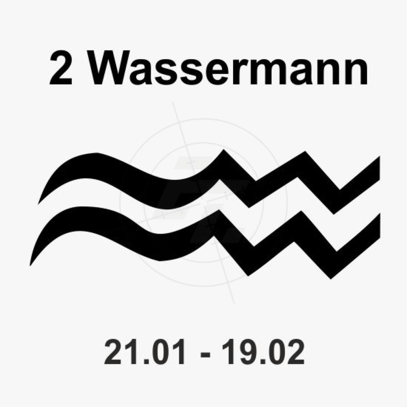Wassermann Sternzeichen sternzeichen, griechische mythologie, aufkleber, sticker und folien