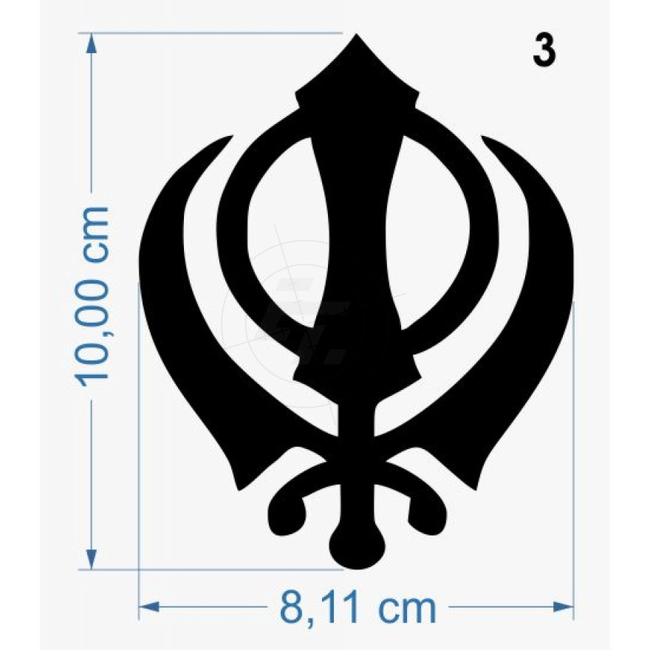 Sticker Religious Symbols