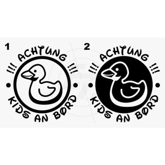 Baby, kids sticker, small duck, Aufkleber, Sticker und Folien für ...