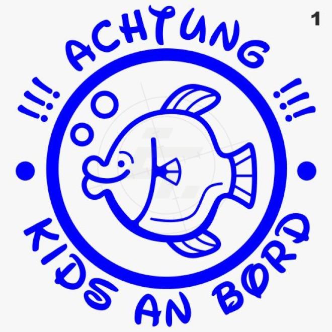 Baby, kids sticker, small fish, Aufkleber, Sticker und Folien für ...