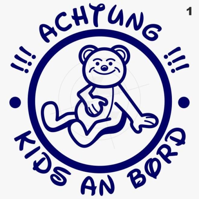 Baby, kids sticker, small teddy bear, Aufkleber, Sticker und Folien ...