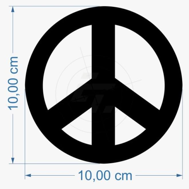 Sticker Peace Sign