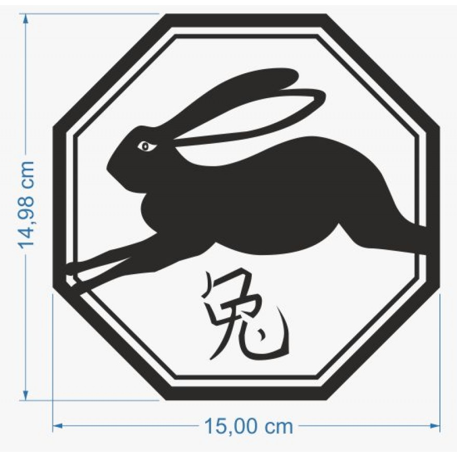 Rabbit Chinese Horoscope Zodiac Signs With Animal Symbol