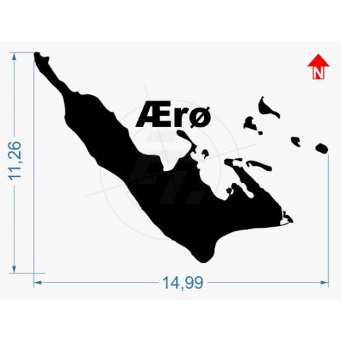 Car Sticker-Island Hiddensee; ripe for the island; Lighthouse; Sea; Islands