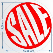 Button Sale mit Text Sale