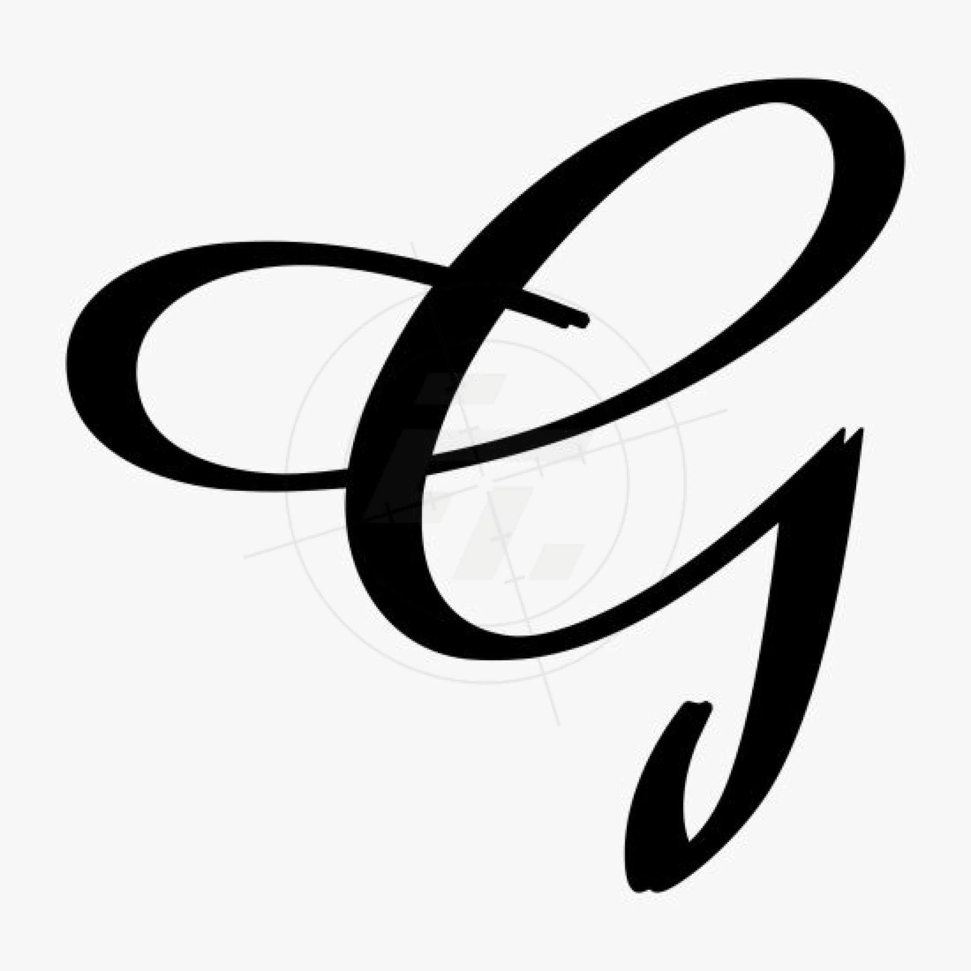 Script Letter G Cursive Letter G | www...