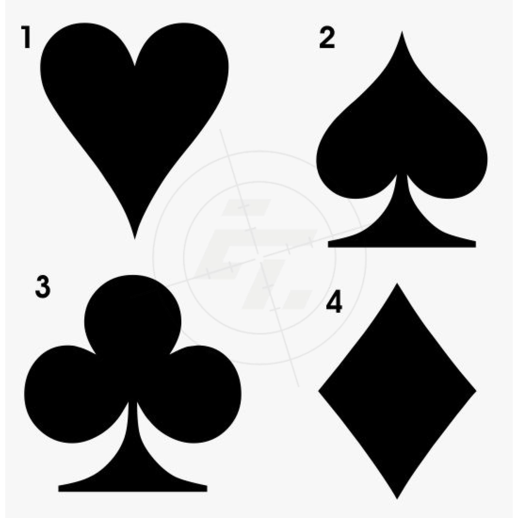 Spielkartensymbole